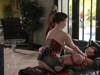 Sex stp ories the surrender of o, scene 6 blonde babe big boobs corset stockings se