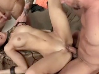Sexe Brutal Fucking, Real College Girl Belle Knox, Scene 4 Big Dick Brunette Pornstar Small Tits Threesome