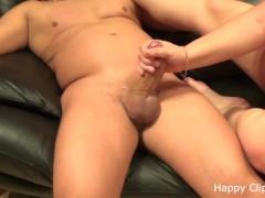 Amateur handjob by ex girlfriend