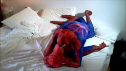 spiderman humps spiderman dummy