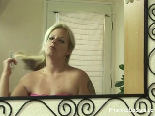 Mature sexy old lady