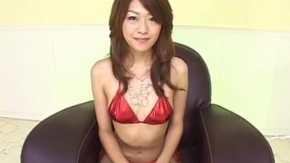 Lusty Asian milf Nagisa Sasaki gets hairy pussy masturbated with sex toy dildo lingerie milf mom fingering sex-toys hairy-pussy mother vibrator close-up bikini small-tits alljapanesepass