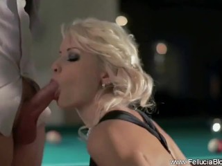 She is Amazing in Blowjob