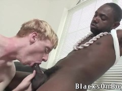 Aaron Rouge Is No Longer A Stranger To Black Dick