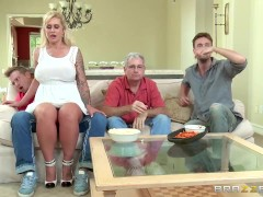 Brazzers – Stepmom takes some young cock