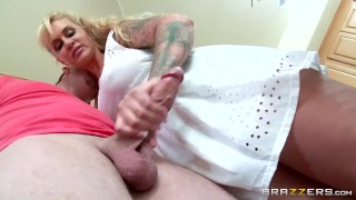 Preview 4 of Brazzers - Stepmom takes some young cock