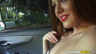 StrandedTeens - Cute redhead needs a little fun