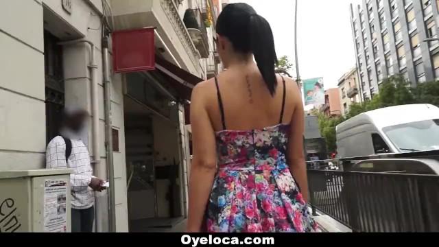 OyeLoca - Spanish Slut gets Pussy and Ass Fucked