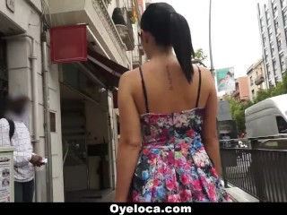 Tightbuttholes Oyeloca - Spanish Slut Gets Pussy And Ass Fucked
