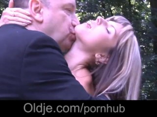 Gina Gerson aka Doris Ivy anal fuck with old man