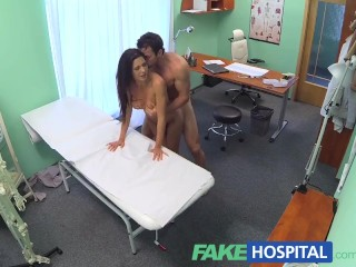 Large Tube Movies FakeHospital Couple fuck in empty doctors office