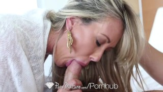 PureMature - Sexy cougar Brandi Love fucks Johnny Castle