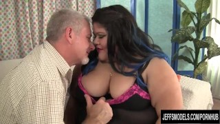 Fatty Asian BBW Sugar gets fucked hard  hardcore jeffsmodels plumper bbw chunky chubby fat asian