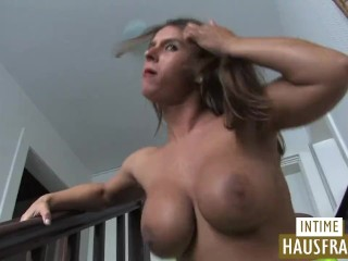 Rob Zombies Wife Sexy Auf Der Party Gefickt, Big Tits Brunette Cumshot Milf