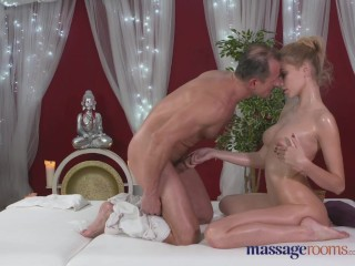 Damien Crosse Naked Massage Rooms Horny model has her perfect 10 body oiled and fucked