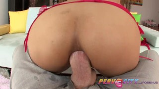 Teen anal pervcity sex asian hot doggy petite