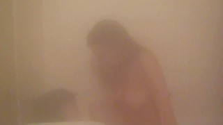 Steamy Shower Sex And Blowjob With Intense Orgasm And Cum Drinking @ Finish