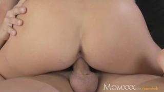 MOM Naughty big tits milf takes a big shaft deep inside her plump pussy