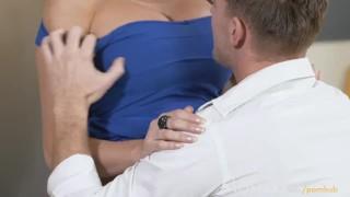 MOM British babe gets creampie as she orgasms riding her man Cumshot outdoor