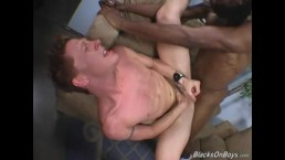 Gene Hawk Enjoys His First Time With A Black Guy