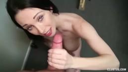 Sexy milf pov handjob
