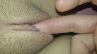 Finger fucking my girlfriend