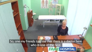 FakeHospital Dirty doctor fucks busty blonde porn star