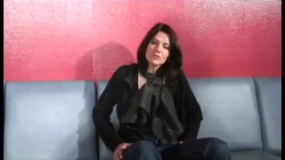 french stepmom casting for DP Jerking big