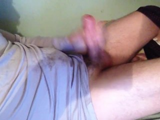 Multiple orgasms Solo male masturbation
