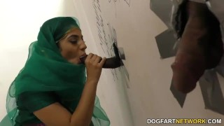 Nadia Ali having fun with black cock in a gloryhole big cock bbc hardcore blowjob gloryhole cumshot big boobs uniform stripping interracial dogfartnetwork pakistani fetish big dick facial