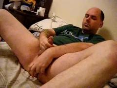 Masterbating anal fuck orgasm