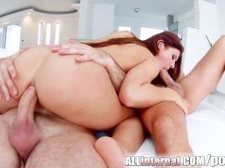 Extreme hardcore kink hot blonde fuck at hotel with big cock babes pussy cum creampie cream