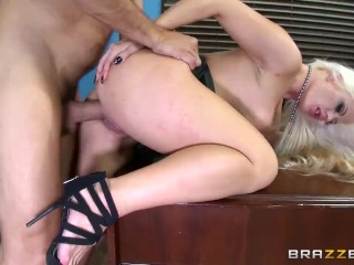 Hot office sex with Holly Heart  – Brazzers