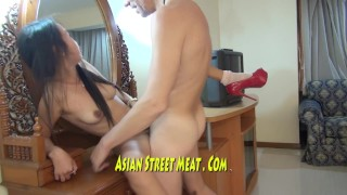 Gorgeous Asian Beauty Queen Fucks For Supper Big natural