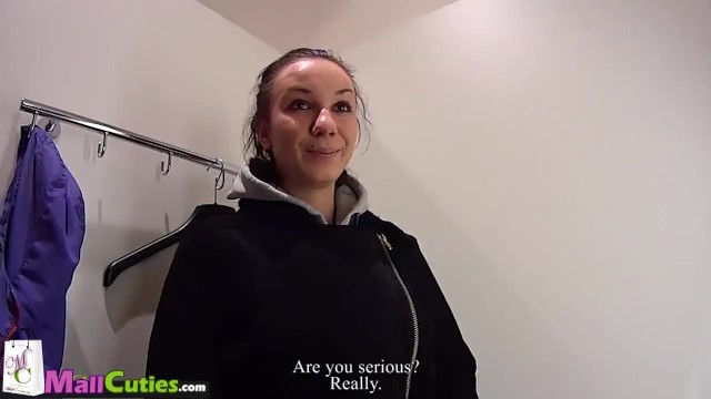 Mallcuties - Amateur czech girls fucking on street