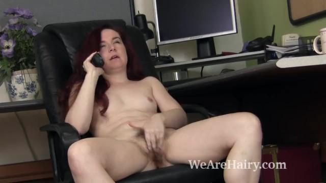 Annebelle lee strips and masturbates after work 9