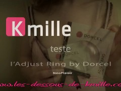 Kmille teste l'Adjust Ring by Dorcel