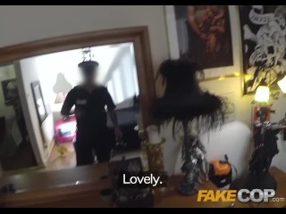 Fake Cop - Uniformed policeman fucks cock hungry sluts