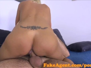 FakeAgent Mature blonde wants to be a model