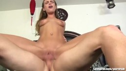 Hot 18 Year Old Swallows Cum!