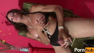 Karen Plays With Her Rod - Scene 1 Facefuck choke