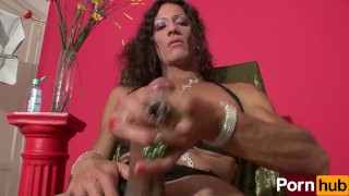 Karen Plays With Her Rod - Scene 1 Pantyhose clingwrap