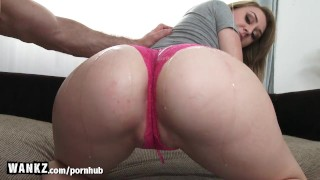 Gets big fucked hot her blonde wankz booty ass ass
