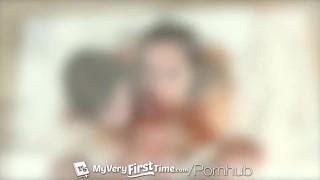 MyVeryFirstTime Alaina Dawson tries her first threesome with sexy Christi
