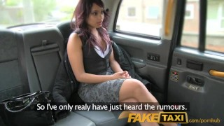 Preview 2 of FakeTaxi Sexual favours from ebony minx