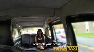 Preview 3 of FakeTaxi Sexual favours from ebony minx