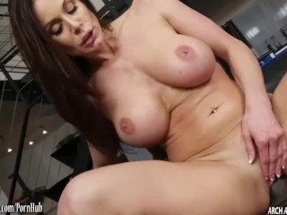 Kendra Lust pounded by a huge black cock