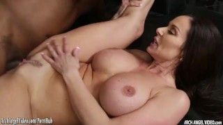 Black pounded by cock lust huge a kendra style cock