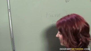 Jessica Ryan cheats her boyfriend in a gloryhole  big cock redhead blowjob gloryhole pornstar cumshot fetish big dick hardcore handjob dogfartnetwork facial dogfartnetwork.com glory hole natural tits cheating