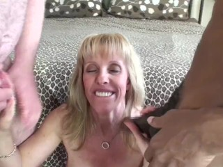 Amateur Masturbation Compilation Double Creampie And A Mouth Full Of CUM